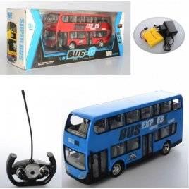 Автобус на радиоуправлении 2 этажа 666-691A