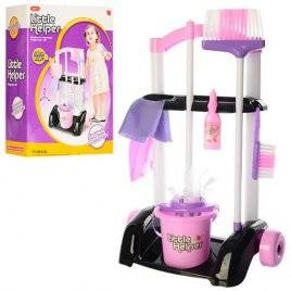 Набор для уборки детский с тележкой 667-32