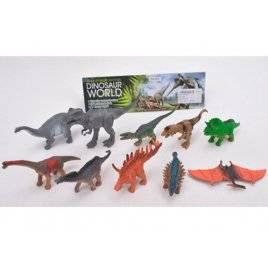 Набор динозавров 10 штук от 10 см 675