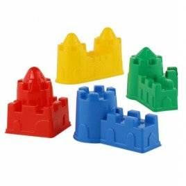 Песочки набор Формочки Замок 4 штуки 67821 Полесье Белорусь