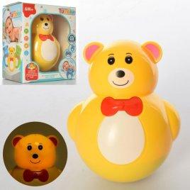 Неваляшка Медведь с музыкой и светом 6801-1