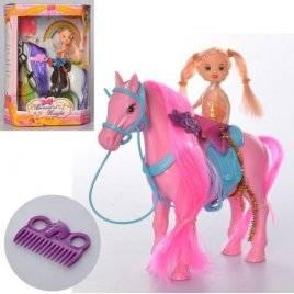 Лошадка с мини куклой 686-351 в коробке