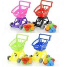 Детская тележка Супермаркет с  шариками 693 в.4 Орион
