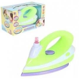 Утюг для детей зеленый с музыкой и светом 6940B