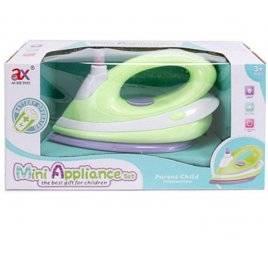 Утюг детский со звуковыми эффектами брызгает водой 6970A салатовый