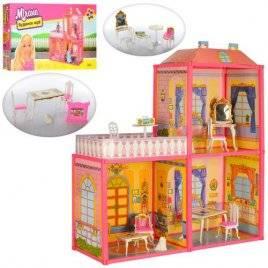 Домик  для кукол Барби 3 комнаты + терасса 6984