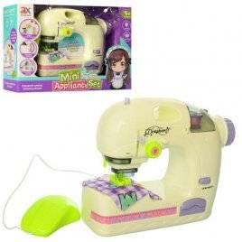Швейная машина со световыми эффектами шьет 6993A