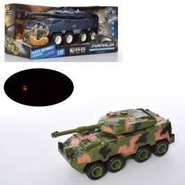 Танк инерционный со звуковыми и световыми эффектами KLX700-7A-10A