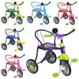 Велосипед детский трехколесный со спинкой LH-701 M