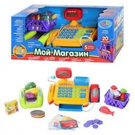 """Кассовый аппарат """"Мой магазин"""" для детей 7018 Joy Toy"""