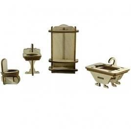 """Набор для творчества деревянная модель """"Ванная комната"""" 70407 Вудмастер"""