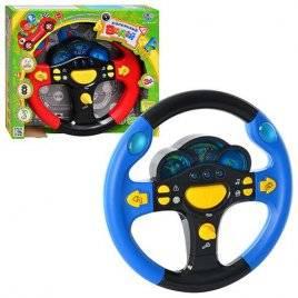 """Руль музыкальный """"Маленький водитель . Я тоже рулю"""" 7044 Joy Toy русский язык"""