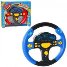 """Уценка! Руль музыкальный """"Маленький водитель . Я тоже рулю"""" 7044 Joy Toy русский язык"""