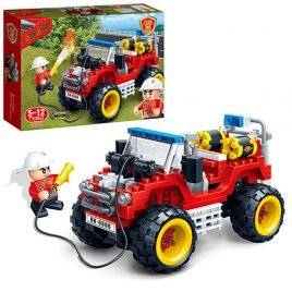 Конструктор Пожарная машина 148 деталей 7106 BANBAO
