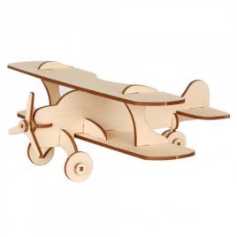 Набор для творчества деревянный  Самолет истребитель/бомбардировщик 70515/70512 Вудмастер