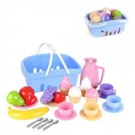 Посудка в корзинке со сладостями 7242 ТехноК