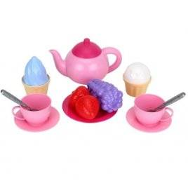Посудка розовая Чайный сервиз со сладостями 7259 ТехноК