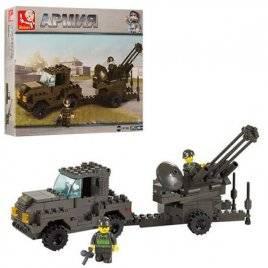 Конструктор военная машина 221 деталь M38-B7300 SLUBAN