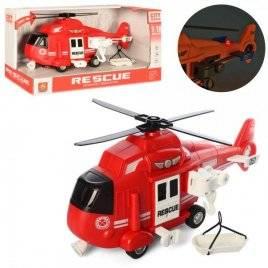 Вертолет инерционный  со звуком и светом WY750B Wenyi