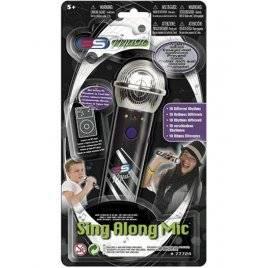 Микрофон с музыкой и светом MP3 77724