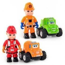 Машинка детская с водителем 789-01