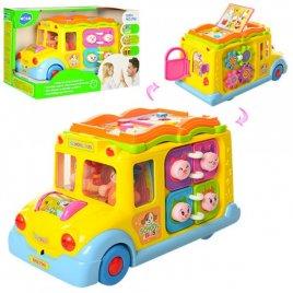 Развивающая игрушка Автобус эмоций 796