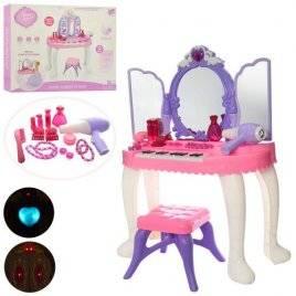 Трюмо детское со стульчиком и пианино YL80015