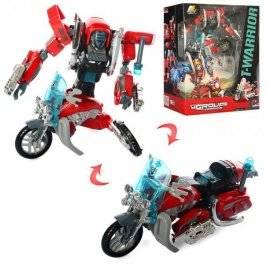 Трансформер робот+мотоцикл J8016A