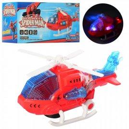 Вертолет со звуком и светом ездит  паук 8048