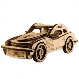 Набор для творчества деревянный Машина Порше 80766 Вудмастер