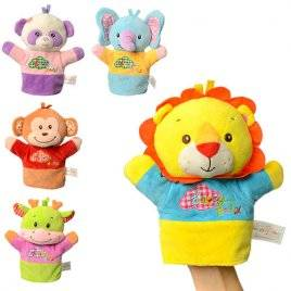 Кукольный театр перчатка Смешные животные 8088-5