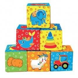 купить мягкие детские кубики