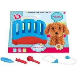 Набор ветеринара инструменты в чемоданчике +Собачка со звуком T811-2