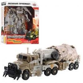 Трансформер робот-трейлер Праймбот 8107-8110