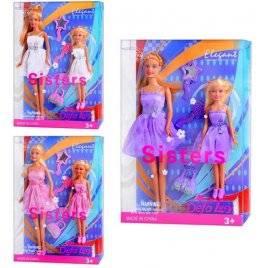 Кукла DEFA с дочкой 3 вида 8126