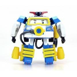 Игрушка трансформер  с космическим оборудованием Робокар Поли