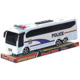 Автобус инерционный полиция 818-5