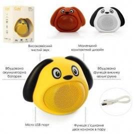 Колонка Собачка Bluetooth с аккумулятором MB-M818
