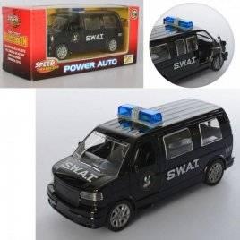 Машинка металлическая инерционная полиция 819 UW