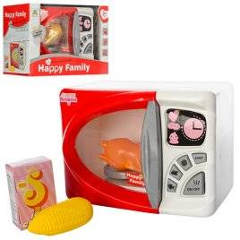 Бытовая техника детская Микроволновая печка для девочек с продуктами LS820K7