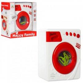 Бытовая техника детская стиральная машинка со светом, звуком и вращающимся барабаном LS820K6