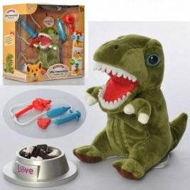 Набор ветеринара + Динозавр со звуком T823-6