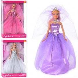 Кукла DEFA Невеста на подставке 8253