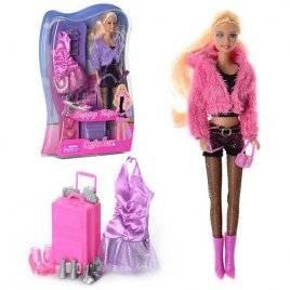Кукла Defa с одеждой и аксессуарами 8262