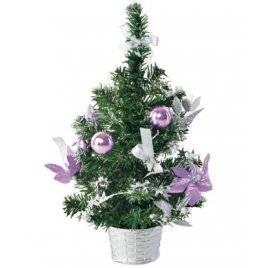 Елка новогодняя в вазоне Фиолетовое чудо 8285