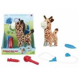 Набор ветеринара инструменты + Жираф ходит со звуком T829-2