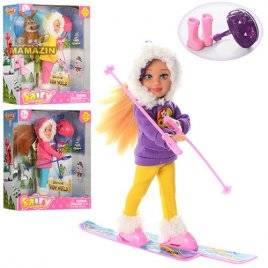 Кукла Defa Lucy  в зимней одежде 8310