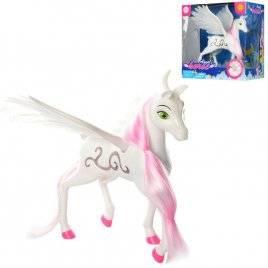 Лошадка ангел с крыльями со звуком и светом 8325 DEFA
