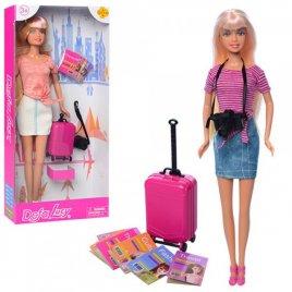 Кукла DEFA с чемоданом и фотоаппаратом 8377-BF