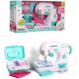 Швейная машинка со световыми эффектами + набор швеи 838
